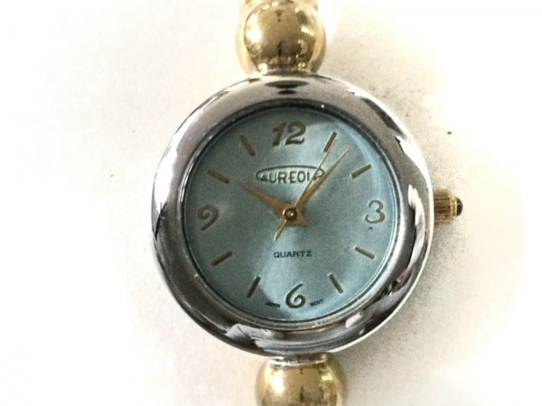 AUREOLE(オレオール) 腕時計 12S424L レディース ライトブルー