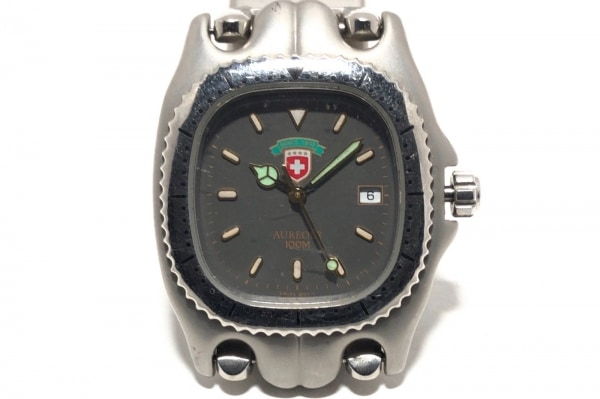 AUREOLE(オレオール) 腕時計 - メンズ ダークグレー