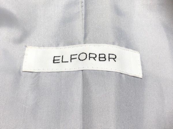ELFORBR(エルフォーブル) コート サイズ38 M レディース ライトグレー