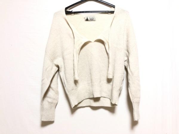Leur Logette(ルルロジェッタ) 長袖セーター サイズ2 M レディース アイボリー