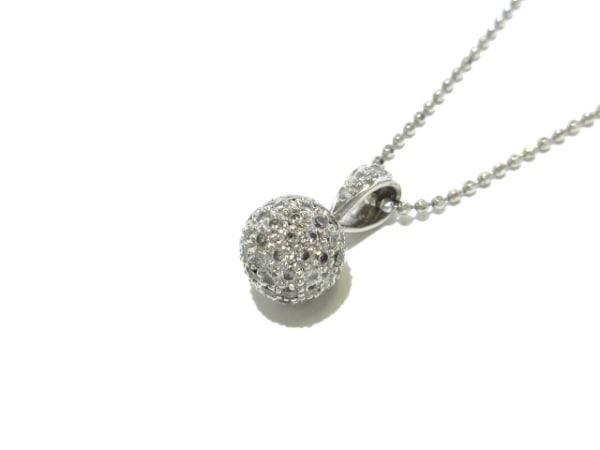 La soma(ラソマ) ネックレス新品同様  Pt850×ダイヤモンド