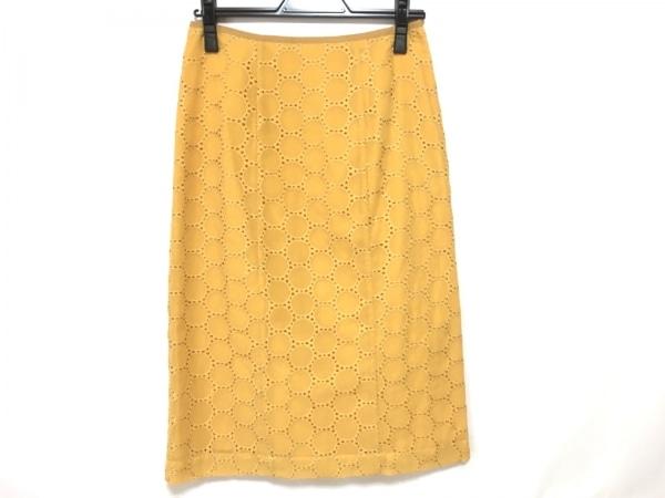 The Virgnia(ザ ヴァージニア) スカート サイズ38 M レディース美品  ゴールド