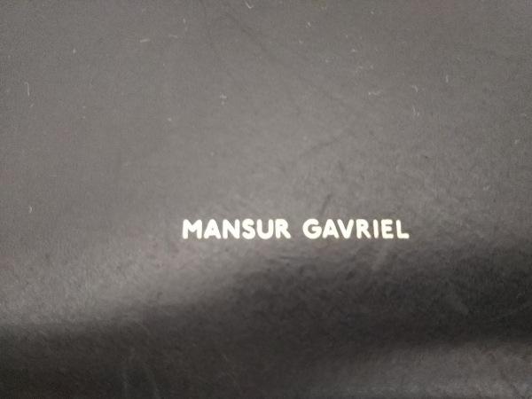マンサーガブリエル ショルダーバッグ 巾着バッグ 3-HMM010VC 黒 巾着型 レザー