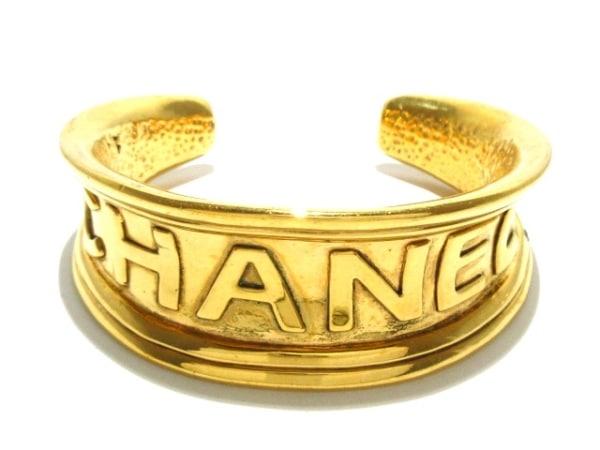 CHANEL(シャネル) バングル 金属素材 ゴールド