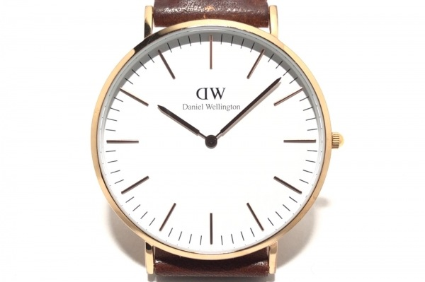 Daniel Wellington(ダニエルウェリントン) 腕時計 B40R6 レディース 白