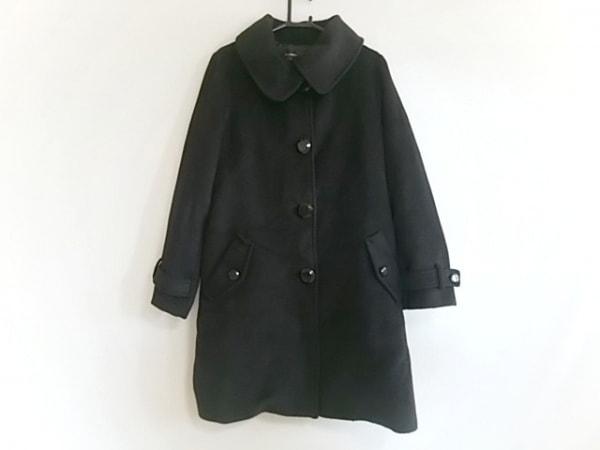INTER PLANET(インタープラネット) コート サイズ40 M レディース 黒 冬物