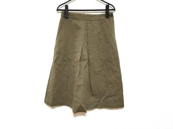 MargaretHowell(マーガレットハウエル) スカート サイズ1 S レディース美品  カーキ