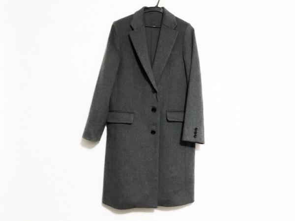 ROSSO(ロッソ) コート サイズFree F レディース美品  グレー カシミヤ混/冬物