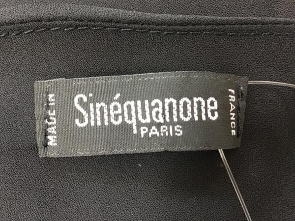 sinequanone(シネカノン) ワンピース サイズ38 M レディース 黒