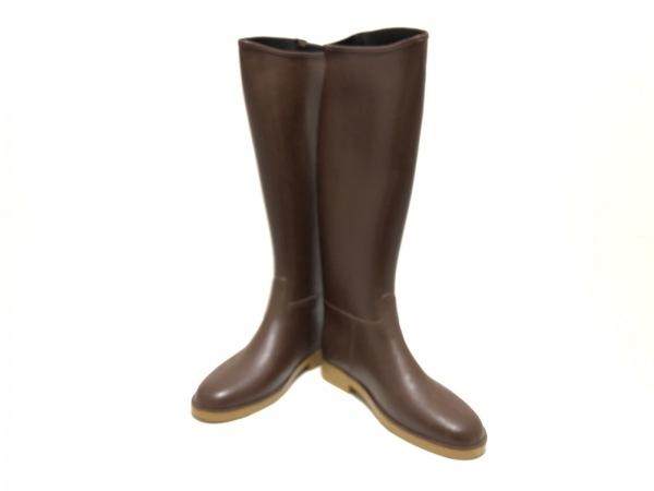Dafna Boots(ダフナブーツ) レインブーツ 37 レディース ダークブラウン ラバー