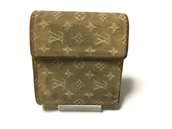 ルイヴィトン 3つ折り財布 モノグラムミニ ポルト ビエ・カルト クレディ モネ M92441