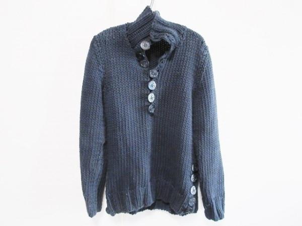 DOLCE&GABBANA(ドルチェアンドガッバーナ) 長袖セーター サイズ44 S メンズ ブルー