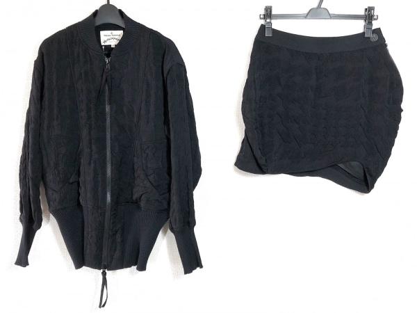 ヴィヴィアンウエストウッドアングロマニア スカートスーツ サイズ40 M レディース 黒