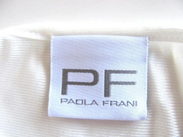 パオラ フラーニ ワンピース サイズ40(I) M レディース アイボリー×黒
