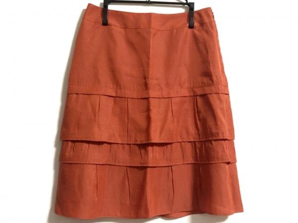 23区(ニジュウサンク) スカート サイズ38 M レディース レッド