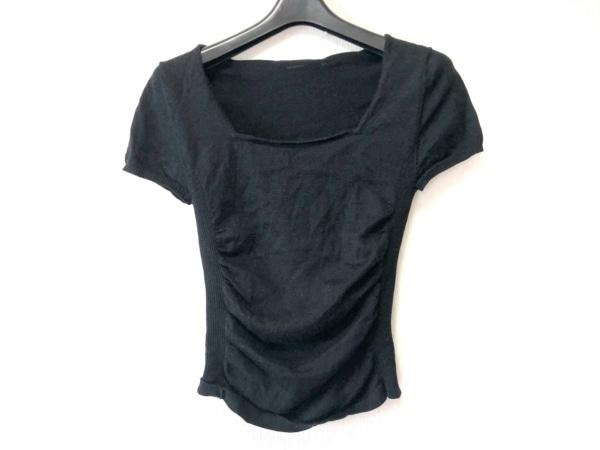 MATERIA(マテリア) 半袖セーター サイズ38 M レディース 黒