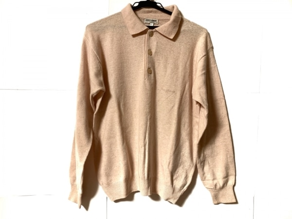 ジョルジオアルマーニ 長袖セーター サイズI   48 メンズ ピンクベージュ