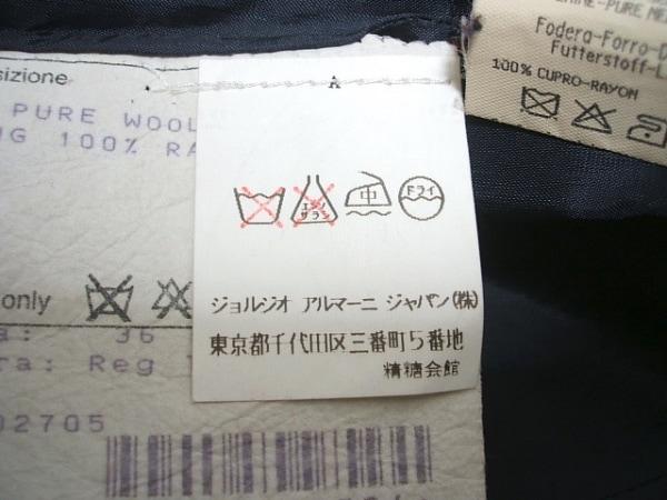 ジョルジオアルマーニクラシコ ジャケット サイズ36 S メンズ ダークグレー