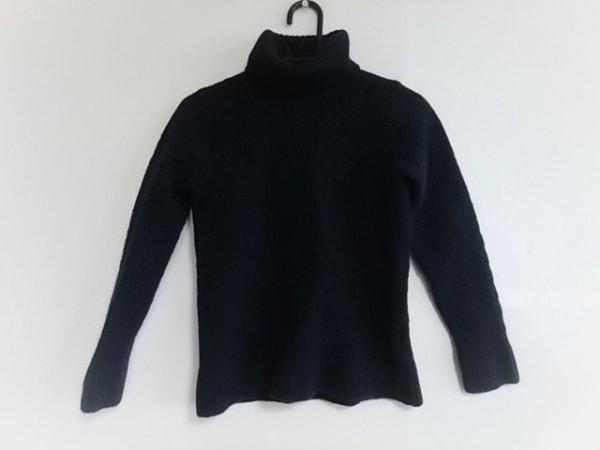 デザインワークス 長袖セーター サイズM レディース美品  ダークネイビー