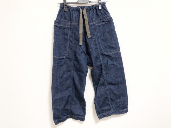 Brocante(ブロカント) パンツ サイズ2 M レディース美品  ネイビー デニム