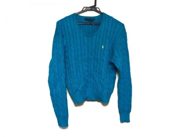 RalphLauren(ラルフローレン) 長袖セーター レディース美品  ブルー