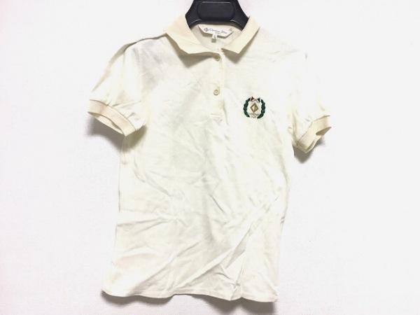 クリスチャンディオールスポーツ 半袖ポロシャツ サイズS レディース 刺繍