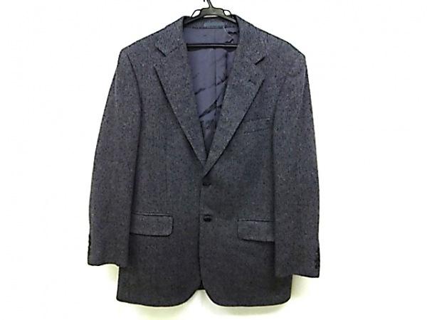 Burberry LONDON(バーバリーロンドン) ジャケット メンズ ダークグレー×黒