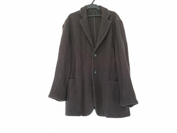 EMPORIOARMANI(エンポリオアルマーニ) ジャケット メンズ 黒 ニット