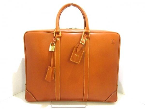 ルイヴィトン ビジネスバッグ ノマド美品  ポルト ドキュマン・ヴォワヤージュ M85389