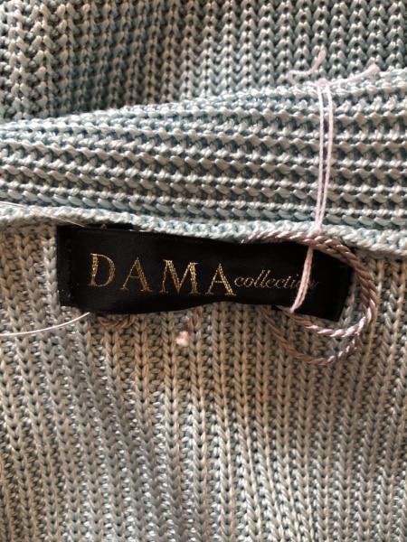 DAMAcollection(ダーマコレクション) ボレロ サイズM レディース美品  ライトブルー