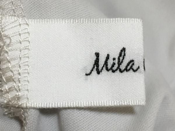 Mila Owen(ミラオーウェン) ワンピース サイズ0 XS レディース美品  グレー×白
