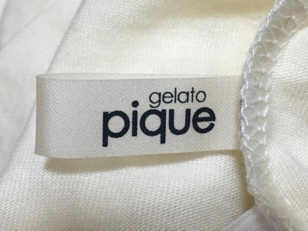 gelato pique(ジェラートピケ) ワンピース サイズF レディース美品  アイボリー
