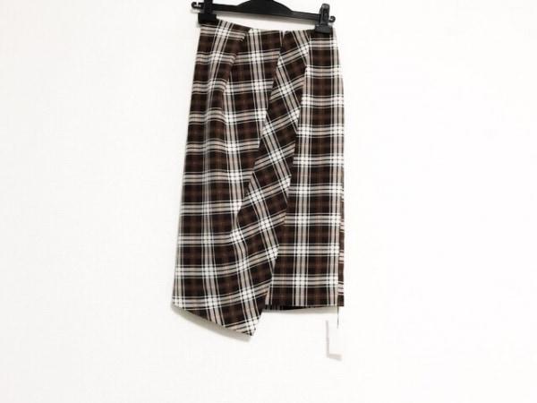 フレイアイディー スカート サイズ0 XS レディース美品  巻きスカート風/チェック柄