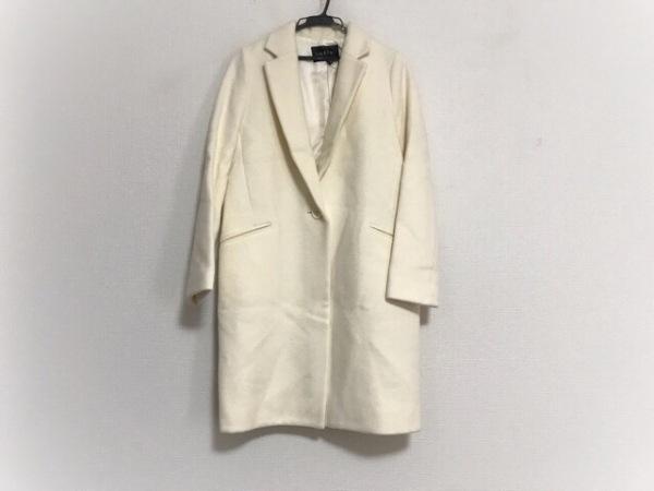 INDIVI(インディビ) コート サイズ36 S レディース美品  アイボリー 冬物