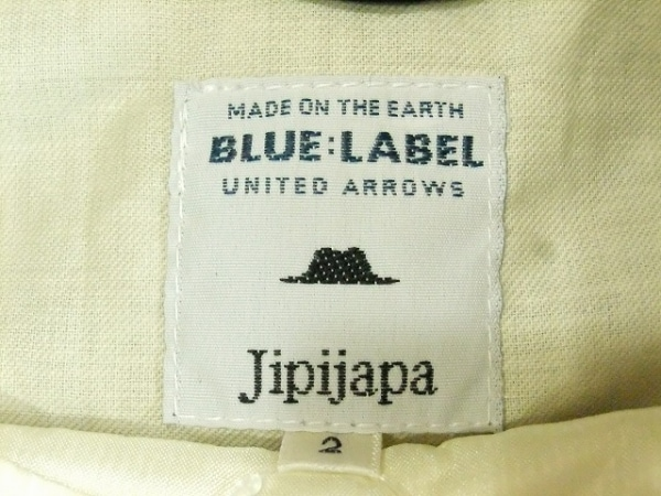 jipijapa(ヒピハパ) ブルゾン サイズ2 M メンズ ダークネイビー 冬物