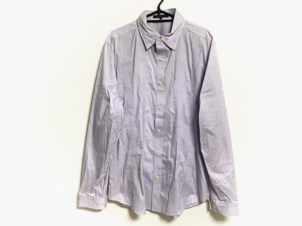 theory(セオリー) 長袖シャツ サイズ42 L メンズ美品  パープル