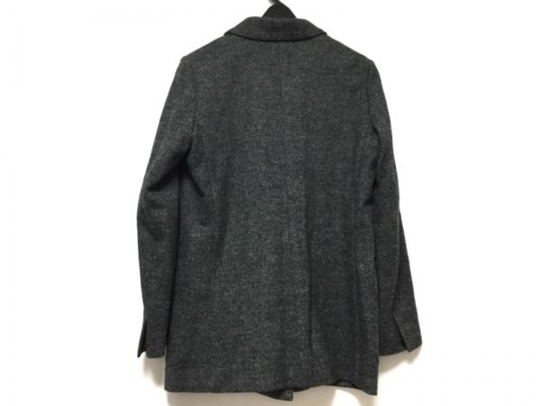 MACPHEE(マカフィ) ジャケット サイズ38 M レディース ダークグレー×黒