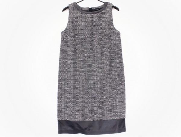 MAX&CO.(マックス&コー) ワンピース サイズ4 XL レディース美品  白×黒