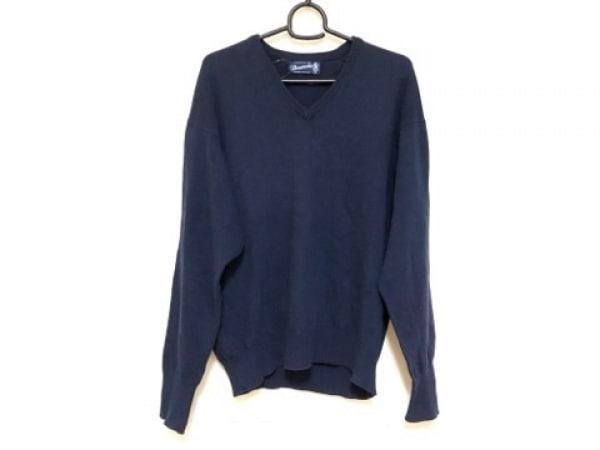 Drumohr(ドルモア) 長袖セーター サイズS メンズ ネイビー Vネック