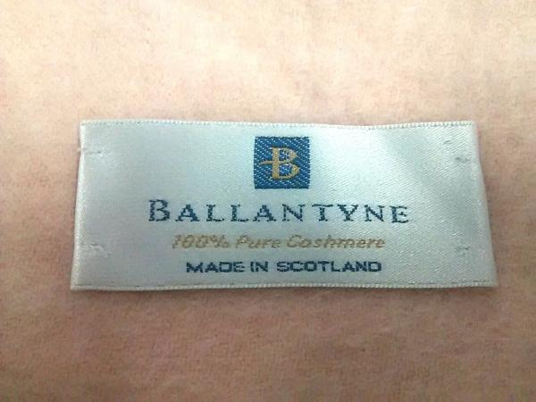 Ballantyne(バランタイン) マフラー ピンク カシミヤ