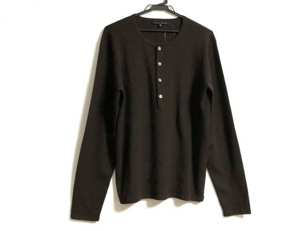 theory(セオリー) 長袖セーター サイズ42 L レディース ダークブラウン