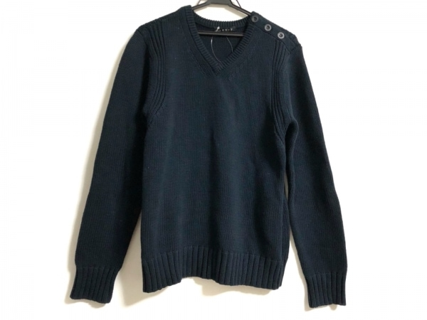 theory(セオリー) 長袖セーター サイズ40 M レディース ダークネイビー