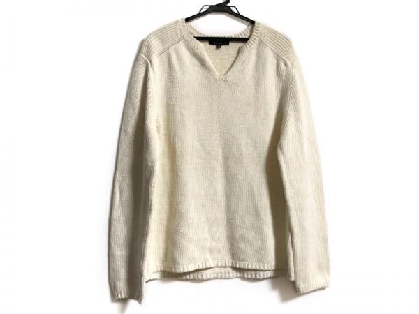 theory(セオリー) 長袖セーター サイズ40 M レディース美品  アイボリー