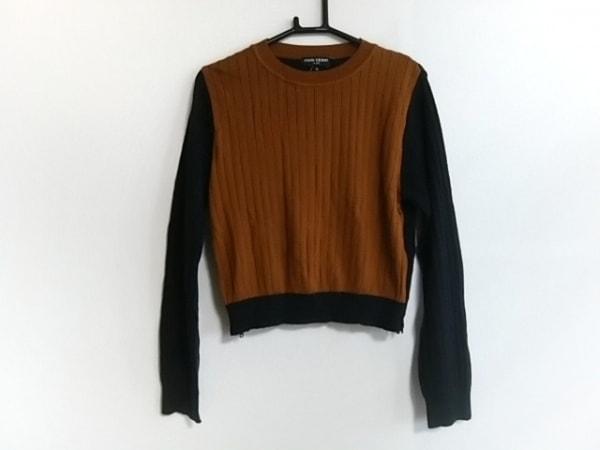 オープニングセレモニー 長袖セーター サイズOS レディース ブラウン×ダークネイビー