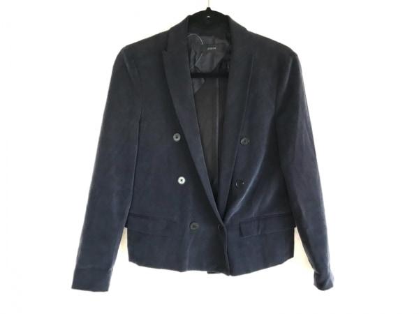 JOSEPH(ジョセフ) ジャケット サイズ38 L レディース ダークネイビー シルク