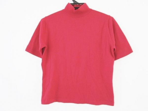 GIVENCHY(ジバンシー) 半袖セーター サイズM レディース レッド ハイネック