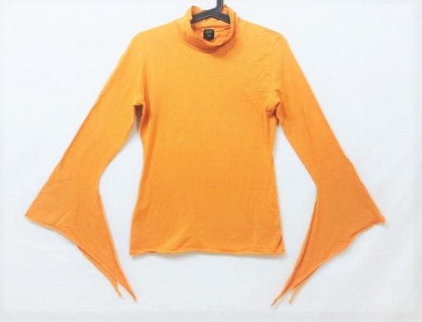 ゴルチエ 長袖Tシャツ サイズ40 M メンズ美品  オレンジ ハイネック/FEMME