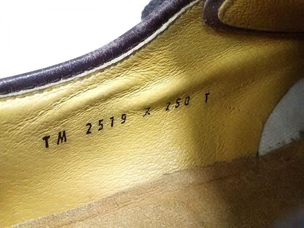 Thom McAn(トムマッキャン) シューズ 25.0 メンズ ダークブラウン レザー