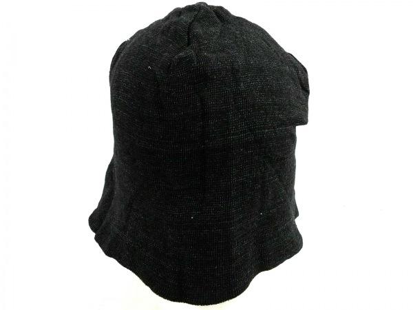 BLUEBLUE(ブルーブルー) 帽子 黒 コットン