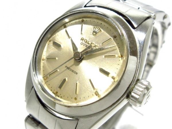 ROLEX(ロレックス) 腕時計 オイスター 6410 レディース SS/11コマ/要OH シルバー